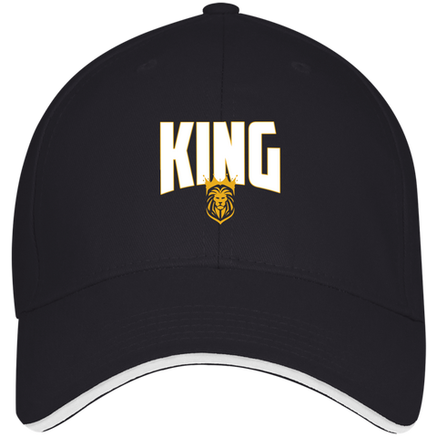 King Visor Hat Hats- Warrior Design Co. | Quality Affordable Branding Solutions