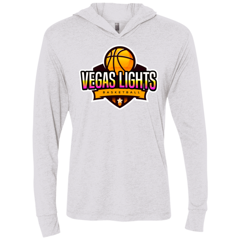 Vegas Lights Hooded T-Shirt T-Shirts- Warrior Design Co. | Quality Affordable Branding Solutions
