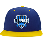 All Sports Recruiter High-Profile Snapback Hat Hats- Warrior Design Co. | Quality Affordable Branding Solutions