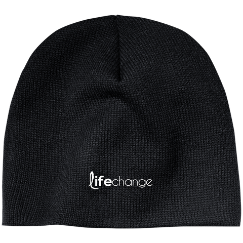 Life Change Acrylic Beanie Hats- Warrior Design Co. | Quality Affordable Branding Solutions