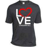 Love Conquers All  Dri-Fit T-Shirt T-Shirts- Warrior Design Co. | Quality Affordable Branding Solutions
