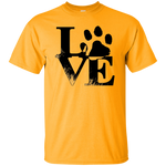 Dog Love Men's T-Shirt - Warrior Design Co. | Quality Affordable Branding Solutions
