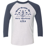 Mustang Tri-Blend 3/4 Sleeve Men's T-Shirt T-Shirts- Warrior Design Co. | Quality Affordable Branding Solutions
