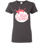 My Mom My Queen Women's T-Shirt T-Shirts- Warrior Design Co. | Quality Affordable Branding Solutions