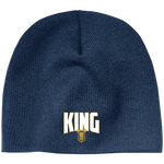 King Acrylic Beanie Hats- Warrior Design Co. | Quality Affordable Branding Solutions