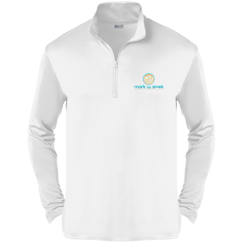 Mark Sivek Competitor 1/4-Zip Pullover Sweatshirts- Warrior Design Co. | Quality Affordable Branding Solutions