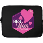 Best Mom Ever Sleeve - 13 inch Laptop Sleeves- Warrior Design Co. | Quality Affordable Branding Solutions