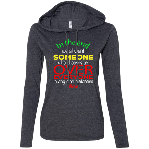 Love Over Everything Women's Hoodie - Warrior Design Co. | Quality Affordable Branding Solutions