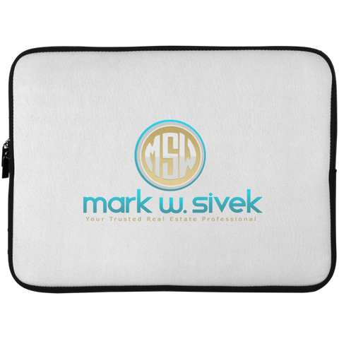 Mark Sivek Laptop Sleeve - 15 Inch Laptop Sleeves- Warrior Design Co. | Quality Affordable Branding Solutions