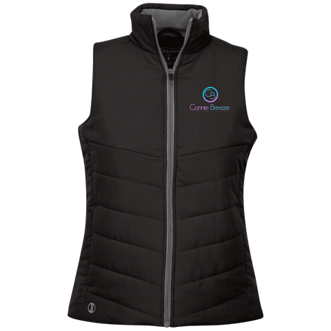 Connie Breeze Ladies' Quilted Vest Jackets- Warrior Design Co. | Quality Affordable Branding Solutions