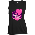 Best Mom Ever Moisture Absorbing V-Neck T-Shirts- Warrior Design Co. | Quality Affordable Branding Solutions