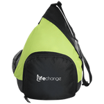 Life Change Active Sling Pack Bags- Warrior Design Co. | Quality Affordable Branding Solutions