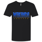 Wakanda Fitted V-Neck T-Shirts- Warrior Design Co. | Quality Affordable Branding Solutions