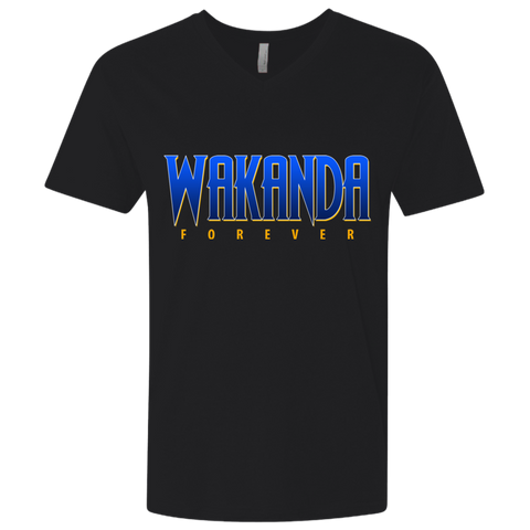 Wakanda Fitted V-Neck - Warrior Design Co. | Quality Affordable Branding Solutions