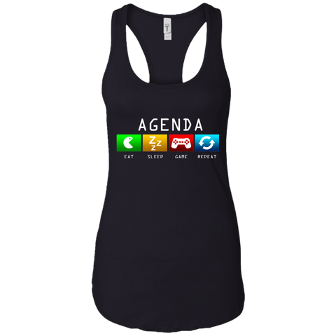 Gamer's Agenda Women's Tank T-Shirts- Warrior Design Co. | Quality Affordable Branding Solutions