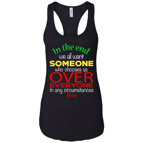 Love Over Everything Women's Tank T-Shirts- Warrior Design Co. | Quality Affordable Branding Solutions