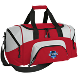 All Sports Recruiter Colorblock Sport Duffel Bag Bags- Warrior Design Co. | Quality Affordable Branding Solutions