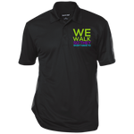 Run/Walk 4 Water Three-Button Polo Polo Shirts- Warrior Design Co. | Quality Affordable Branding Solutions