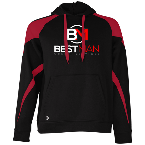 Best Man Holloway Colorblock Hoodie Sweatshirts- Warrior Design Co. | Quality Affordable Branding Solutions