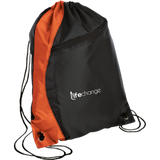 Life Change Colorblock Cinch Pack Bags- Warrior Design Co. | Quality Affordable Branding Solutions