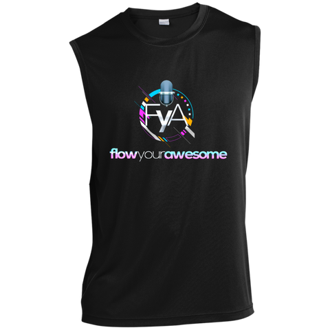 Flow Your Awesome  Performance T-Shirt T-Shirts- Warrior Design Co. | Quality Affordable Branding Solutions