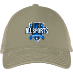 All Sports Recruiter Mesh Back Cap Hats- Warrior Design Co. | Quality Affordable Branding Solutions