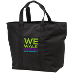 Run/Walk 4 water All Purpose Tote Bag Bags- Warrior Design Co. | Quality Affordable Branding Solutions
