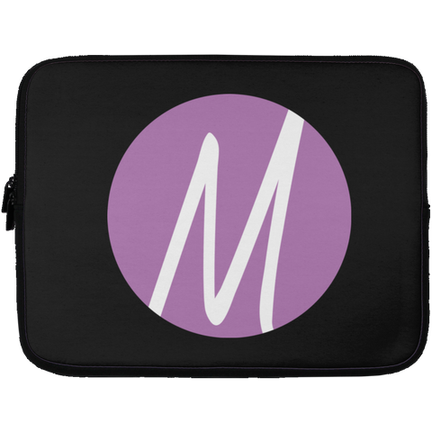 MM (icon) Laptop Sleeve - 13 inch Laptop Sleeves- Warrior Design Co. | Quality Affordable Branding Solutions