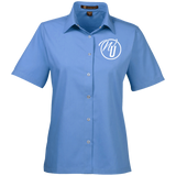 Worship Unleashed Ladies' Short-Sleeve Shirt Dress Shirts- Warrior Design Co. | Quality Affordable Branding Solutions