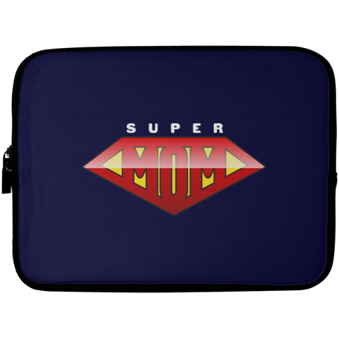 Super Mom Laptop Sleeve - 10 inch Laptop Sleeves- Warrior Design Co. | Quality Affordable Branding Solutions