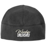 Worship Unleashed Fleece Beanie Hats- Warrior Design Co. | Quality Affordable Branding Solutions
