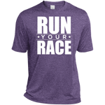 Run Your Race Moisture-Wicking T-Shirt T-Shirts- Warrior Design Co. | Quality Affordable Branding Solutions