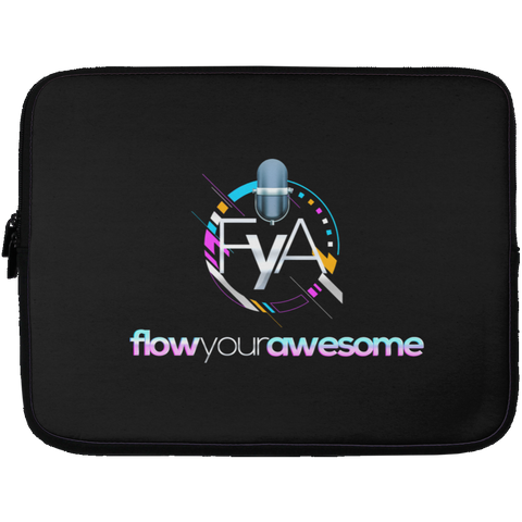 Flow Your Awesome Laptop Sleeve - 13 inch Laptop Sleeves- Warrior Design Co. | Quality Affordable Branding Solutions