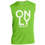 Only Believe Performance T-Shirt T-Shirts- Warrior Design Co. | Quality Affordable Branding Solutions