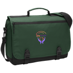 Life Change Outreach Messenger Briefcase Bags- Warrior Design Co. | Quality Affordable Branding Solutions