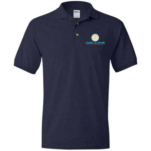 Mark Sivek Jersey Polo Shirt Polo Shirts- Warrior Design Co. | Quality Affordable Branding Solutions