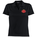 Queens create Queens  Dri-Mesh Short Sleeve Polo Polo Shirts- Warrior Design Co. | Quality Affordable Branding Solutions