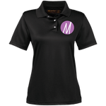 Moore Marketing (icon) Women's Performance Polo Polo Shirts- Warrior Design Co. | Quality Affordable Branding Solutions