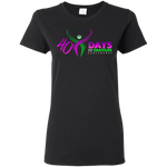 40 Days Women's T-Shirt T-Shirts- Warrior Design Co. | Quality Affordable Branding Solutions