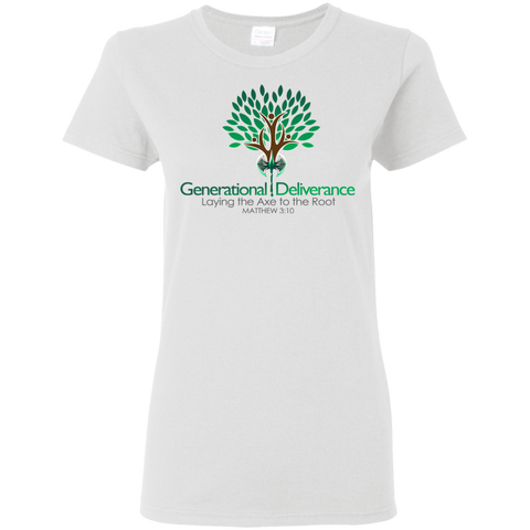 Generational Deliverance Women's T-Shirt T-Shirts- Warrior Design Co. | Quality Affordable Branding Solutions