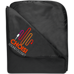 CHOISI Fleece & Poly Travel Blanket Blankets- Warrior Design Co. | Quality Affordable Branding Solutions