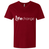 Life Change Fitted V-Neck T-Shirts- Warrior Design Co. | Quality Affordable Branding Solutions