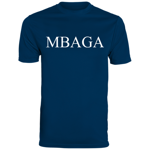 MBAGA Men's Wicking T-Shirt T-Shirts- Warrior Design Co. | Quality Affordable Branding Solutions