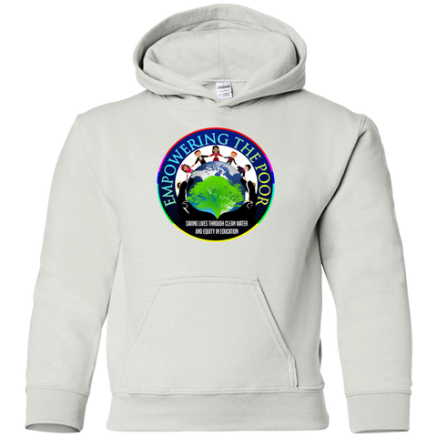 Empowering the Poor Youth Pullover Hoodie Sweatshirts- Warrior Design Co. | Quality Affordable Branding Solutions