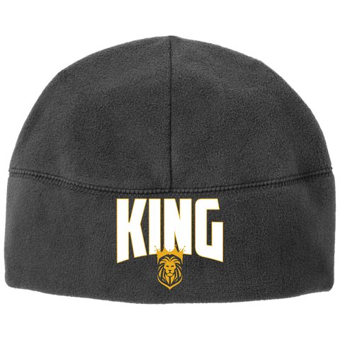 King Fleece Beanie Hats- Warrior Design Co. | Quality Affordable Branding Solutions