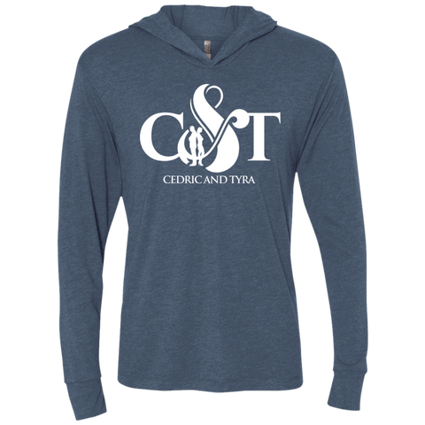 Cedric & Tyra Hooded T-Shirt T-Shirts- Warrior Design Co. | Quality Affordable Branding Solutions