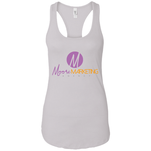 Moore Marketing Racerback Tank T-Shirts- Warrior Design Co. | Quality Affordable Branding Solutions