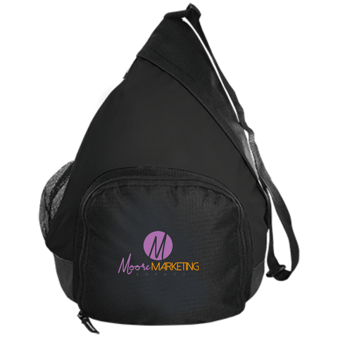 Moore Marketing Active Sling Pack Bags- Warrior Design Co. | Quality Affordable Branding Solutions