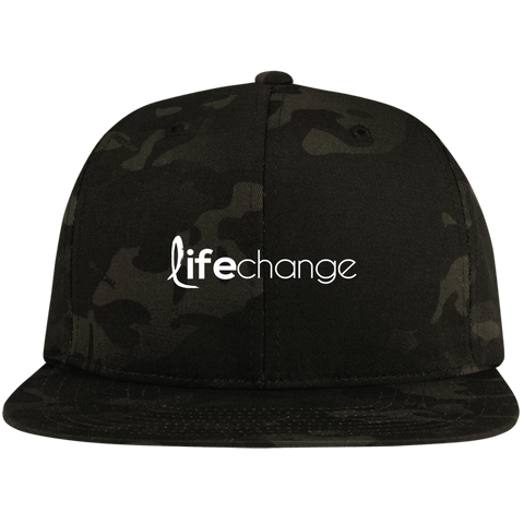 Life Change High-Profile Snapback Hat Hats- Warrior Design Co. | Quality Affordable Branding Solutions
