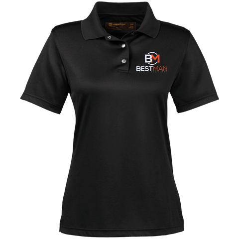 Best Man Women's Performance Polo Polo Shirts- Warrior Design Co. | Quality Affordable Branding Solutions